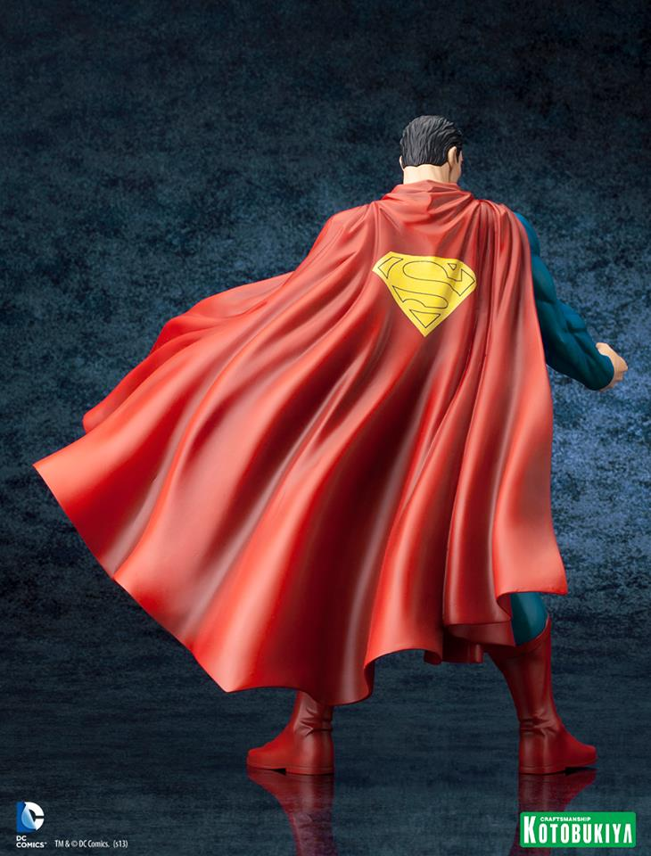 DC Comics Superman For Tomorrow ARTFX Statue 007