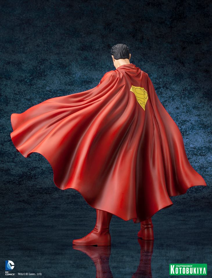 DC Comics Superman For Tomorrow ARTFX Statue 008