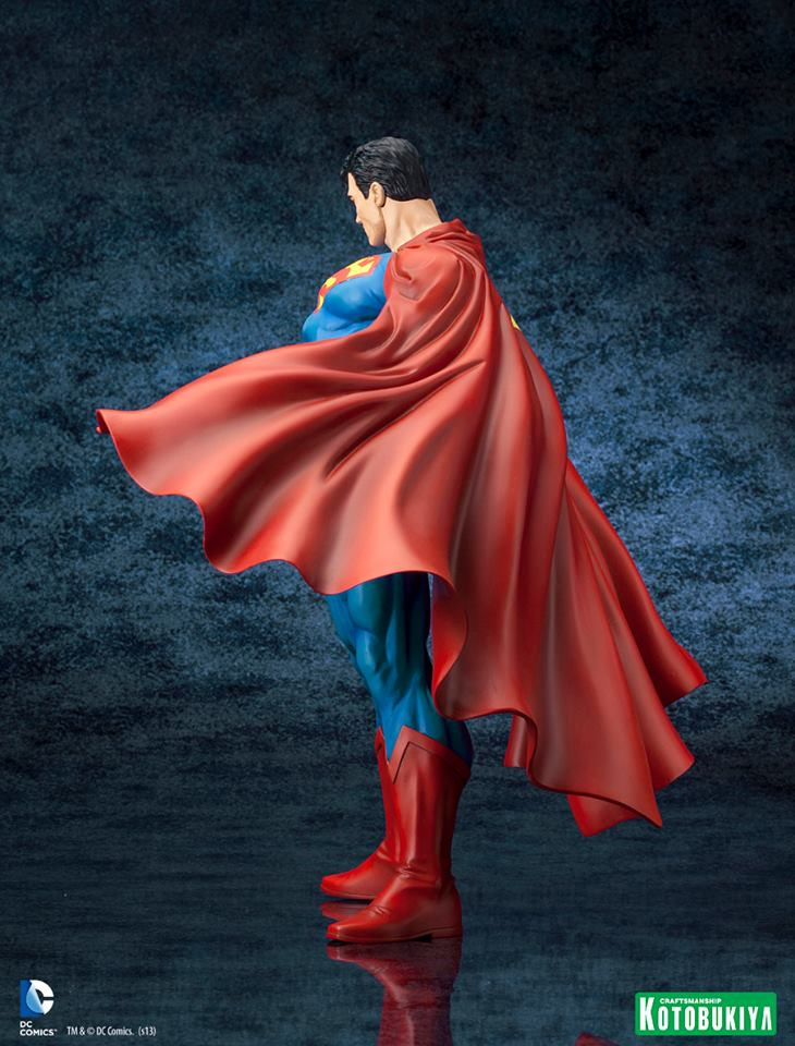DC Comics Superman For Tomorrow ARTFX Statue 009
