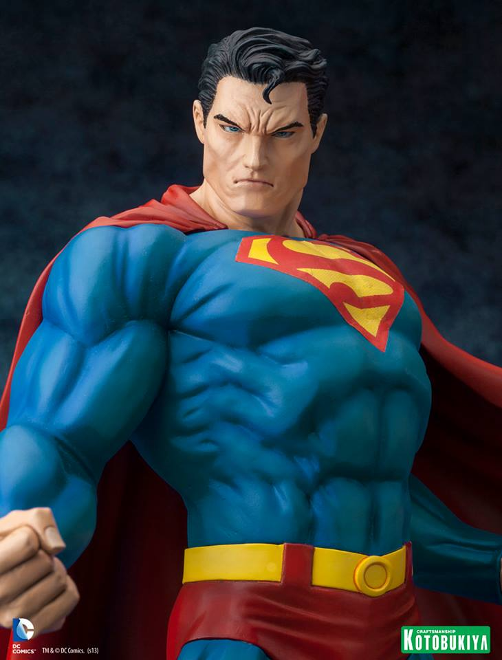 DC Comics Superman For Tomorrow ARTFX Statue 010