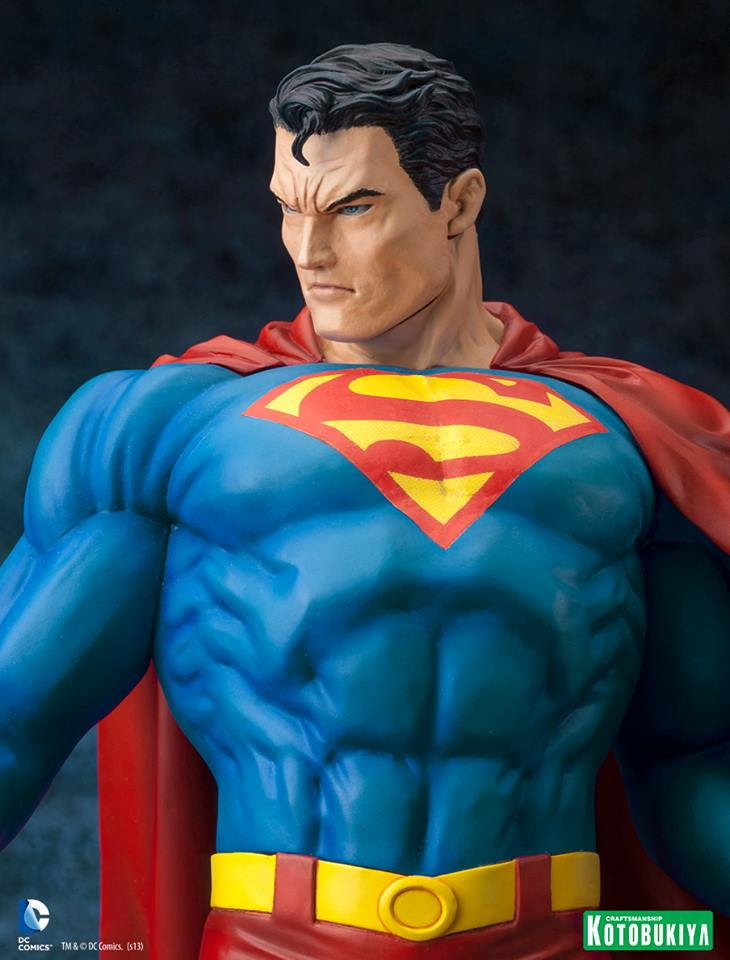 DC Comics Superman For Tomorrow ARTFX Statue 011