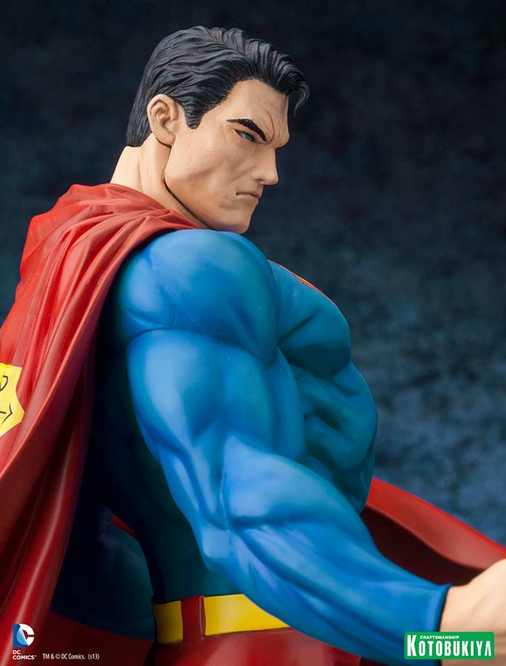 DC Comics Superman For Tomorrow ARTFX Statue 012