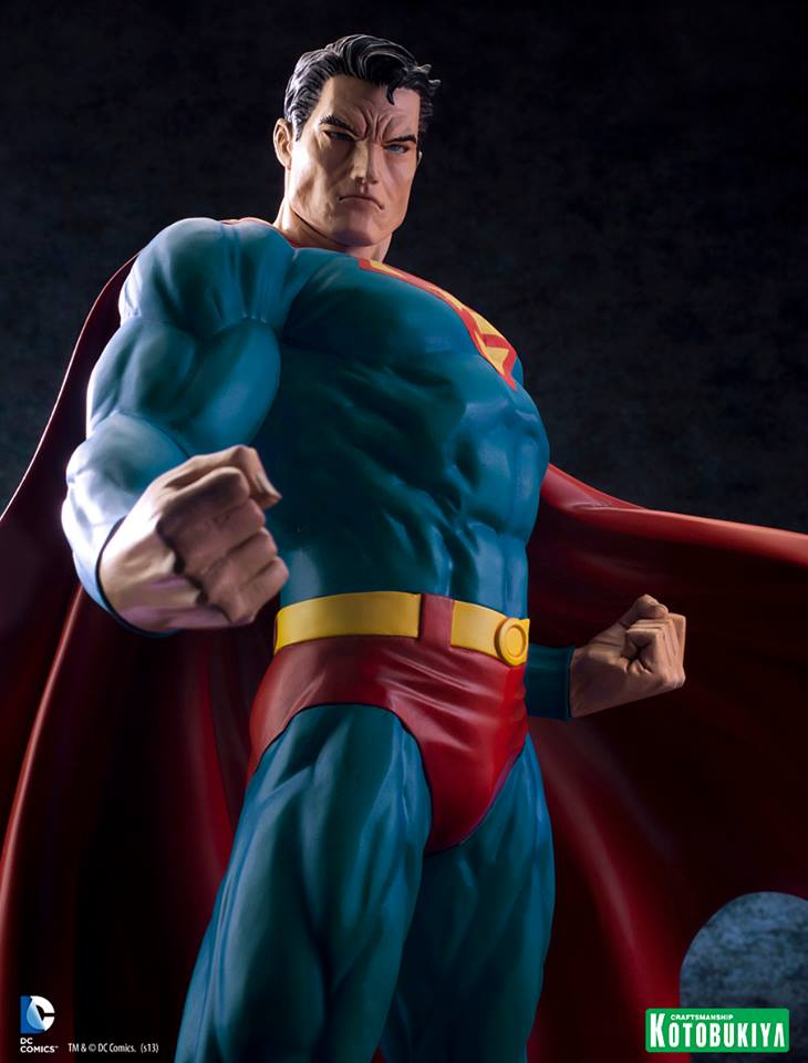 DC Comics Superman For Tomorrow ARTFX Statue 013
