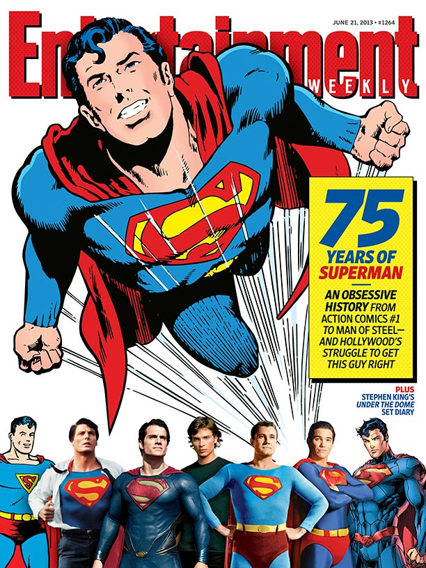 EW COVER SUPERMAN
