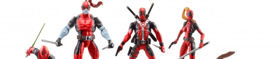 Hasbro 2013 SDCC Marvel Universe Deadpool Corp team