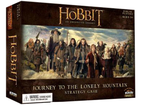 Hobbit Journey To The Mountain