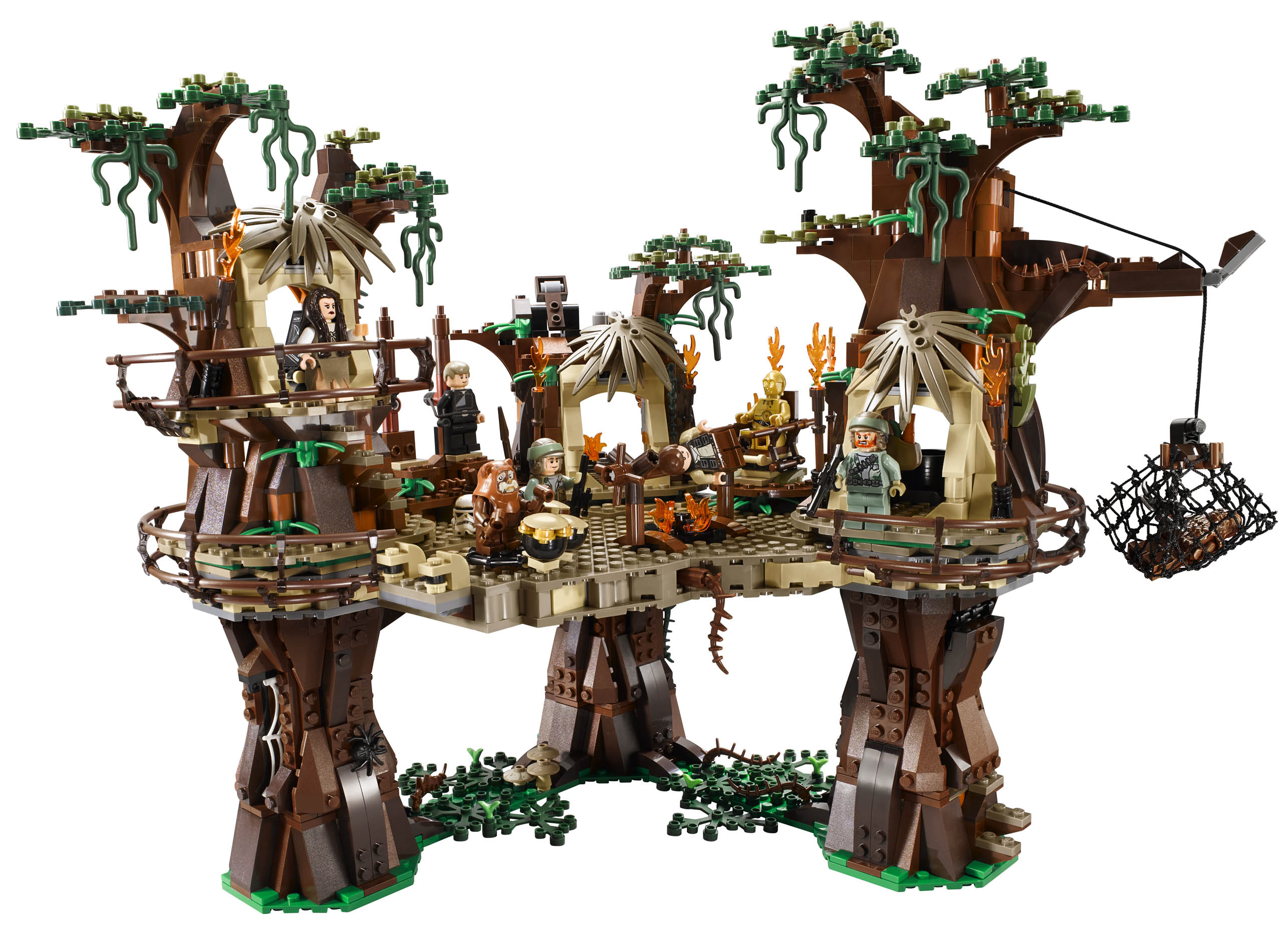 Lego star wars ewok village images and info