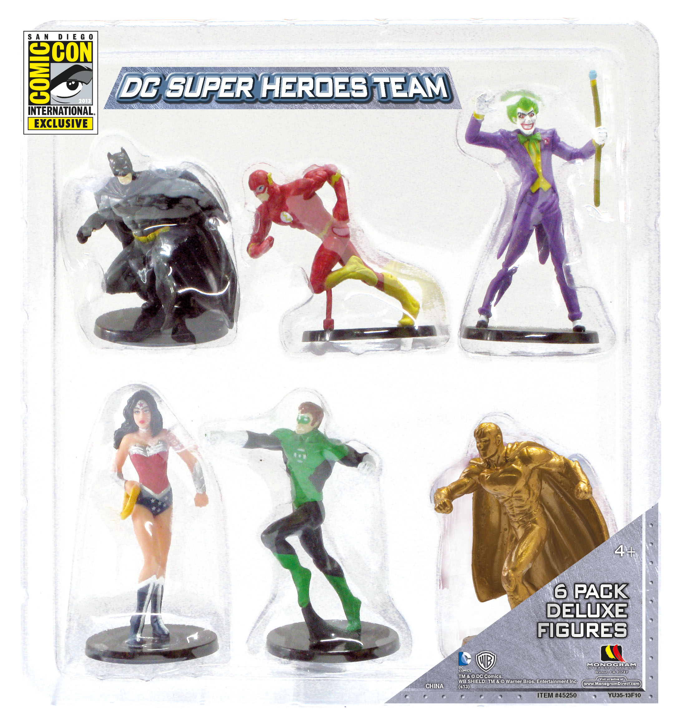 Monogram DC Comics PVC 6 Pack SDCC