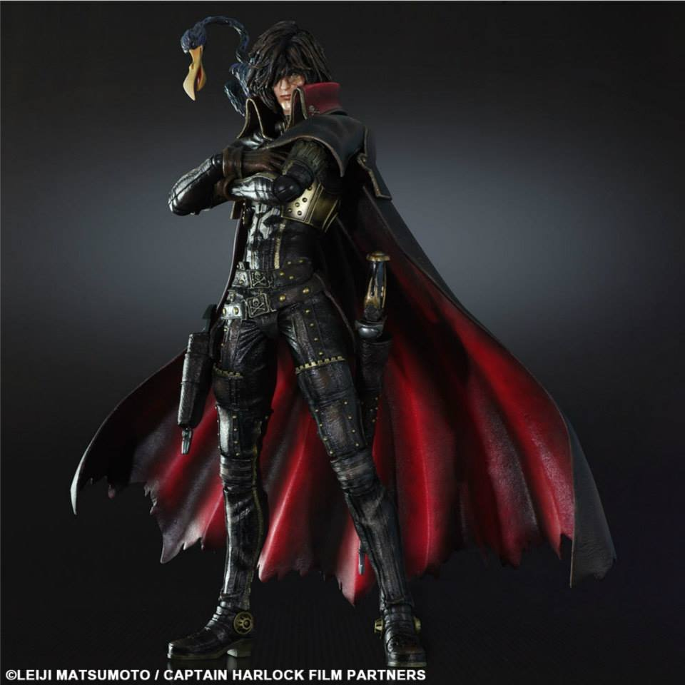 Play Arts Kai Captain Harlock 1
