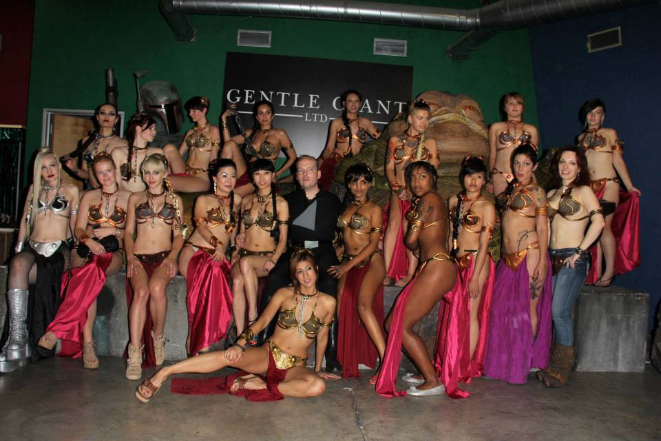 Slave Leia at Gentle Giant