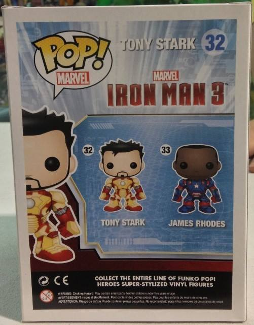 Unmasked Iron Patriot Pop Vinyl Figure