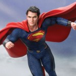 Action Hero Vignette Man of Steel Superman