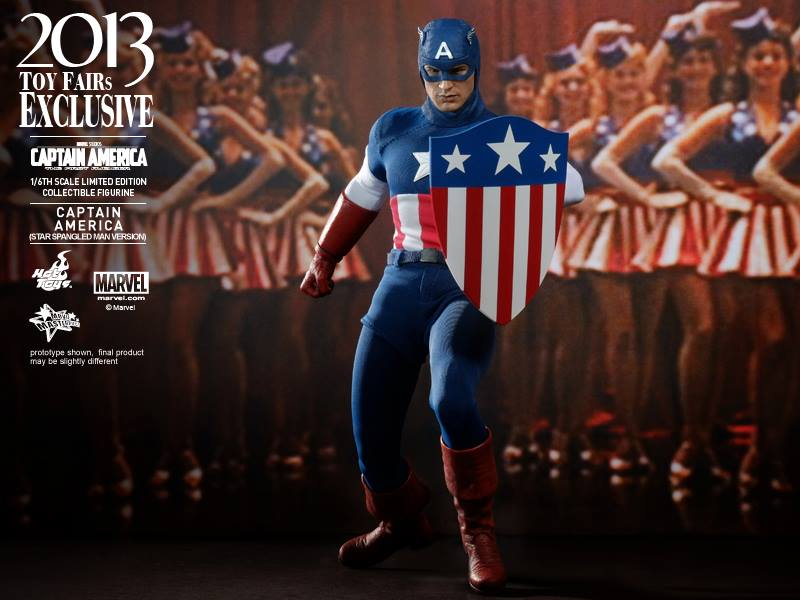 More Images And Info For Star Spangled Man Captain America