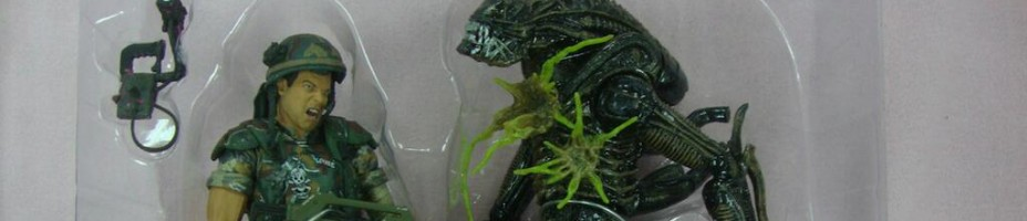 Hudson vs Alien Warrior 2 Pack Preview