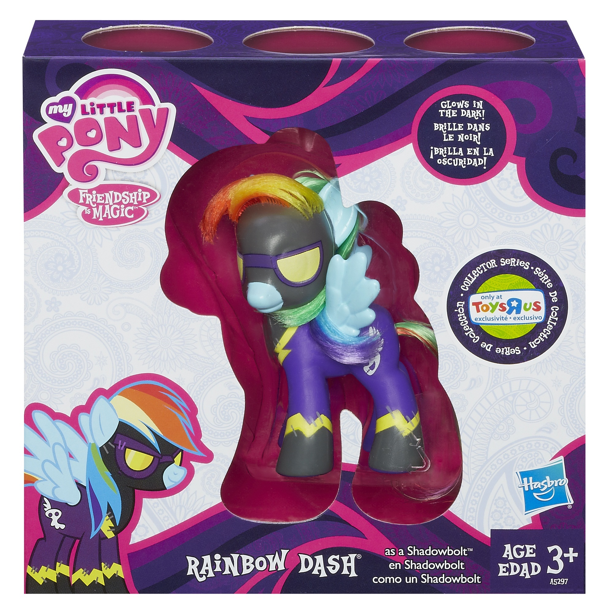My Little Pony Rainbow Dash as Shadowbolt 1