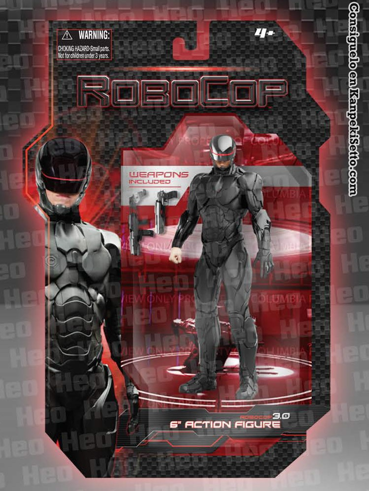 Robocop 3 0 6 Inch Action Figure