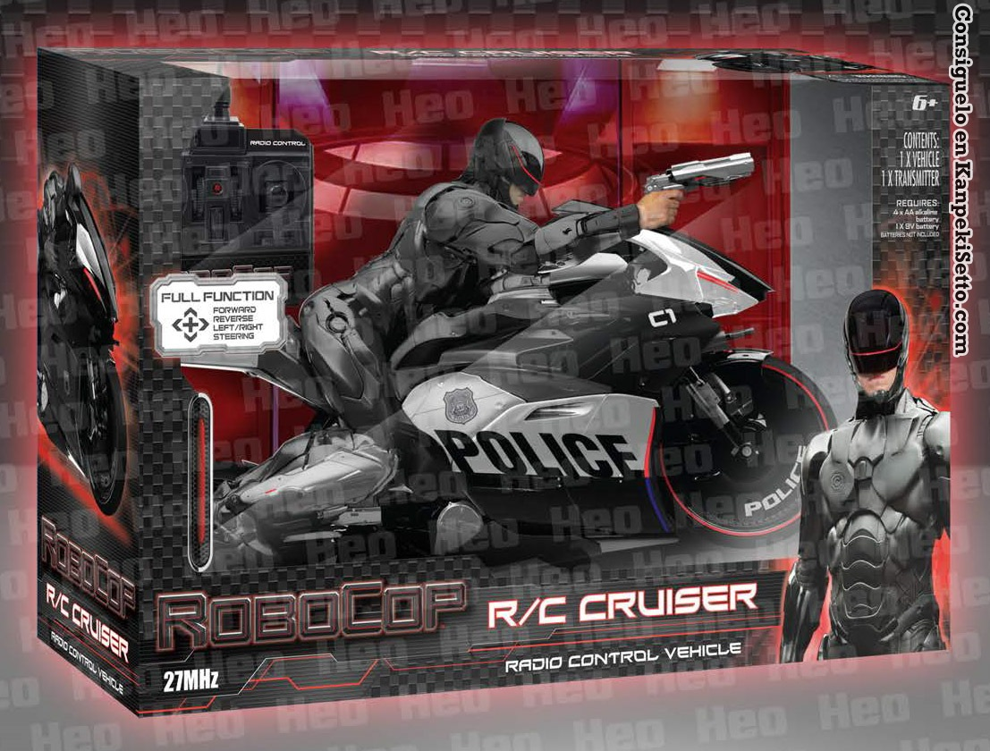 Robocop Radio Controlled Motorcycle