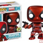 SDCC Funko Metallic Deadpool Pop Vinyl