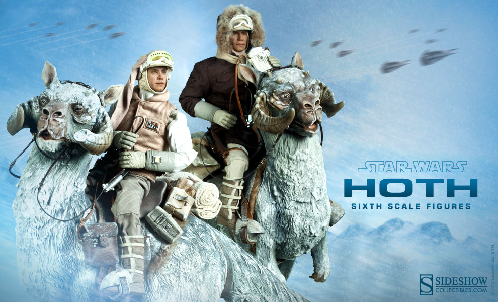 sideshow previews star wars hoth sixth scale figures the. Black Bedroom Furniture Sets. Home Design Ideas