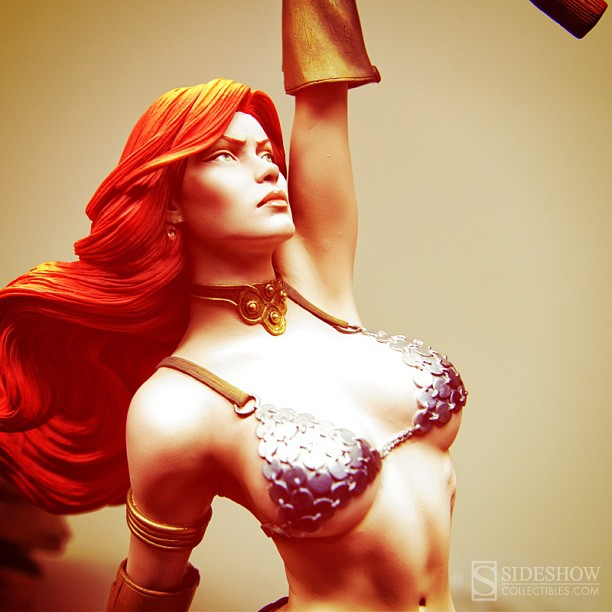 Sideshow Red Sonja Statue