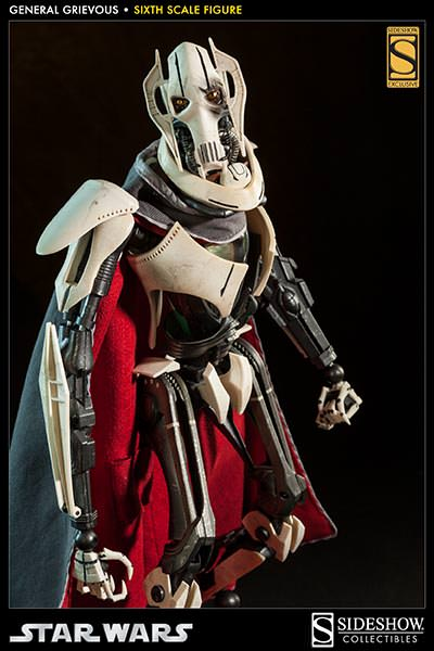 [SideShow] Star Wars: General Grievous 1/6th Scale Figure - Página 2 Sixth-Scale-General-Grievous-Figure-001