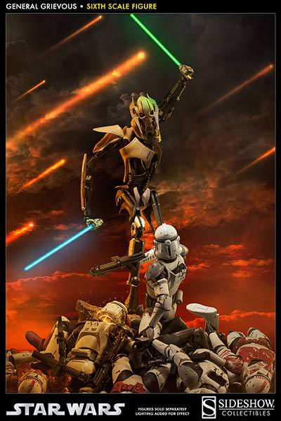 [SideShow] Star Wars: General Grievous 1/6th Scale Figure - Página 2 Sixth-Scale-General-Grievous-Figure-005