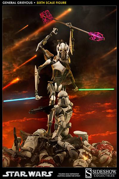 [SideShow] Star Wars: General Grievous 1/6th Scale Figure - Página 2 Sixth-Scale-General-Grievous-Figure-007