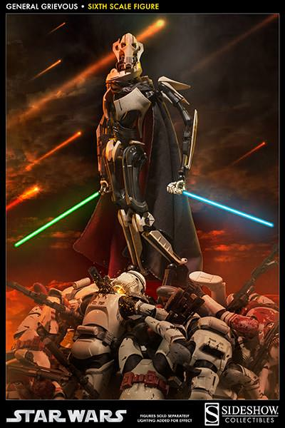 [SideShow] Star Wars: General Grievous 1/6th Scale Figure - Página 2 Sixth-Scale-General-Grievous-Figure-008