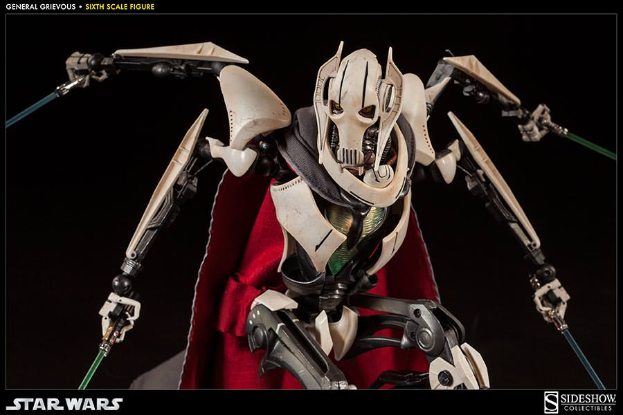 [SideShow] Star Wars: General Grievous 1/6th Scale Figure - Página 2 Sixth-Scale-General-Grievous-Figure-012