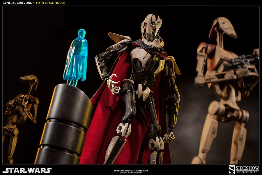 [SideShow] Star Wars: General Grievous 1/6th Scale Figure - Página 2 Sixth-Scale-General-Grievous-Figure-014