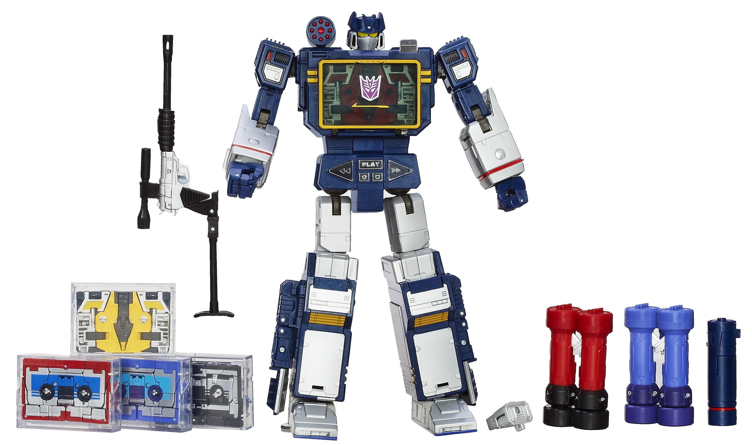Transformers Masterpiece Soundwave 2