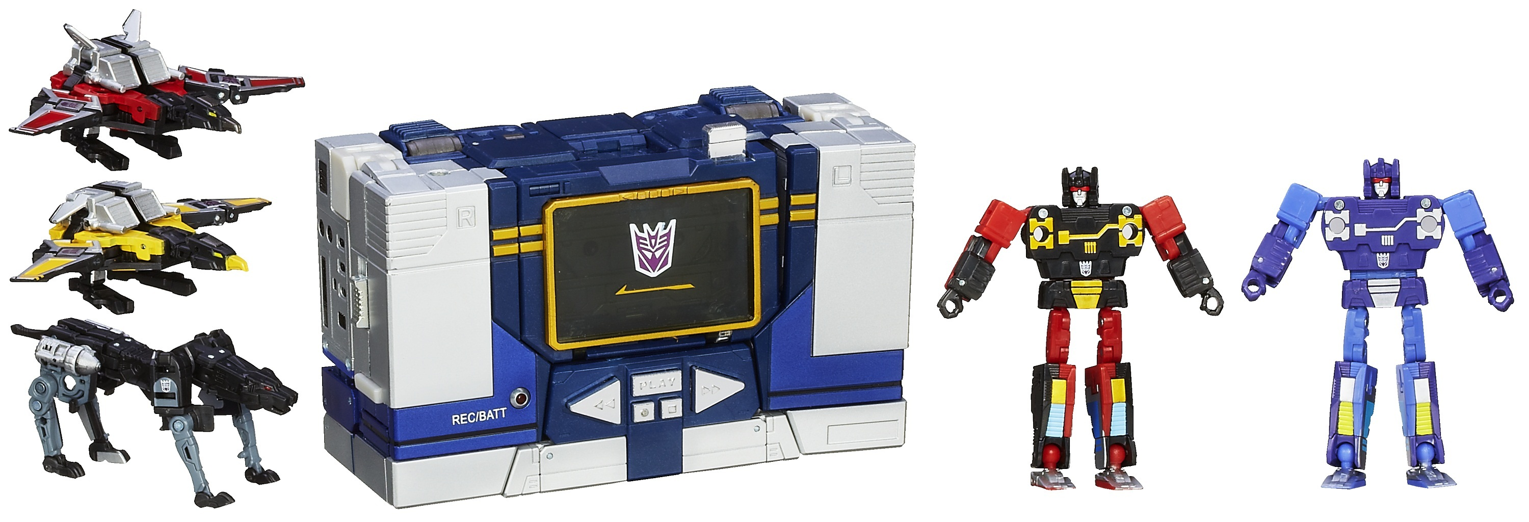Transformers Masterpiece Soundwave 3
