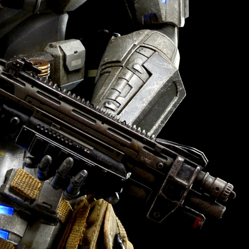 Halo Minimates Emile For 3a Halo Reach Emile
