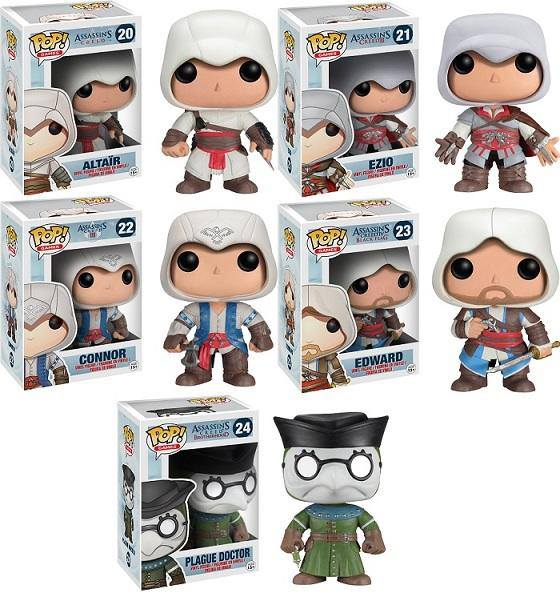 Assassins Creed Pop Vinyl
