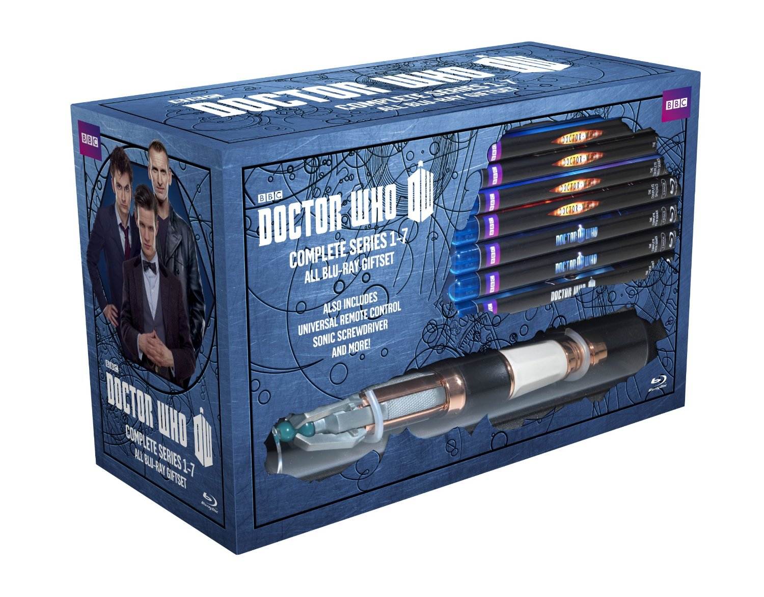 Dr Who blu Ray Box Set