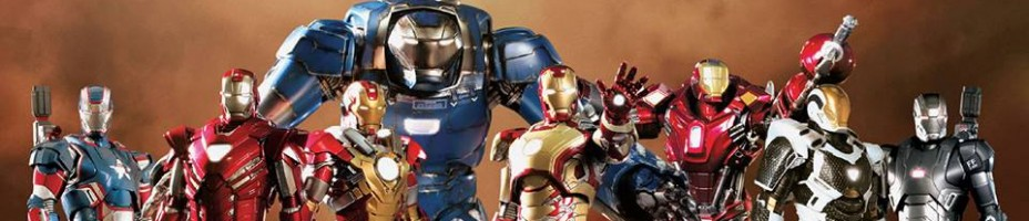 Hot Toys Iron Man 3 Armors