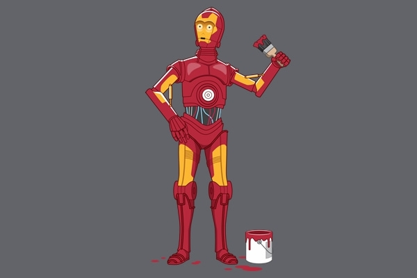 Iron Droid Shirt