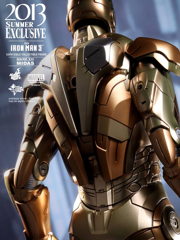 Iron Man 3 Midas Armor Mark XXI Figure - The Toyark - News