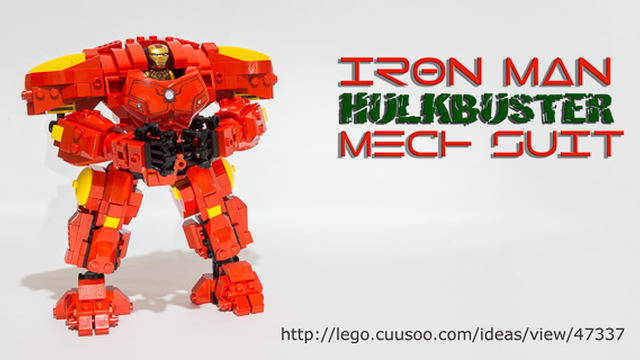 Last lego cuusoo project this time for a massive iron man hulkbuster