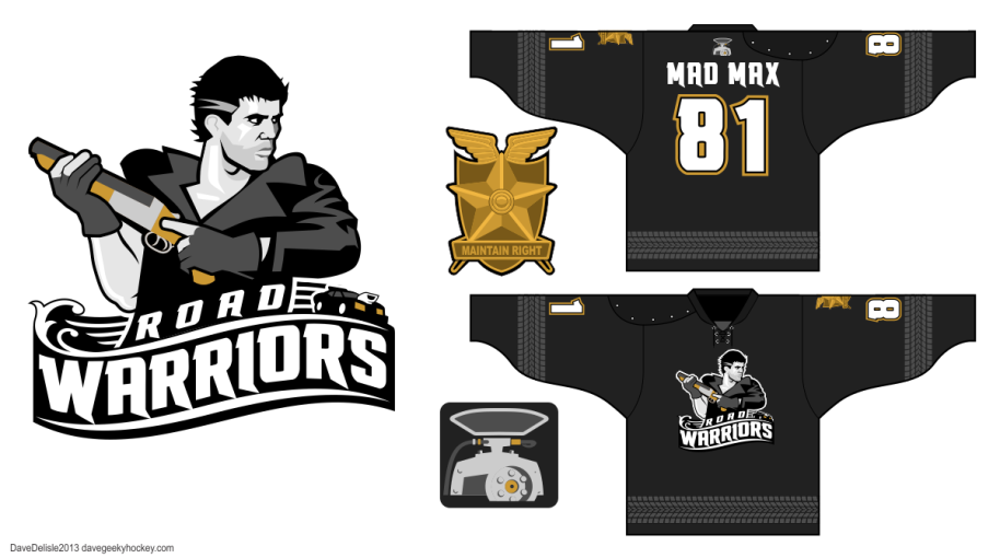 Mad Max Concept Jersey