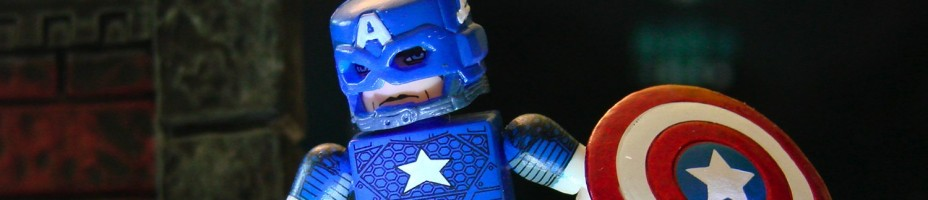 Marvel Now Minimates Captain America 1