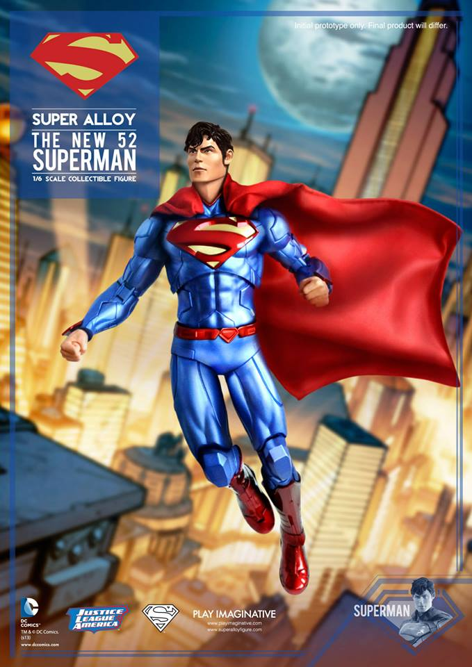 New 52 Super Alloy Superman 002