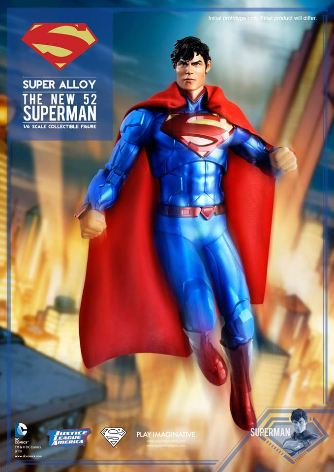 New 52 Super Alloy Superman 007