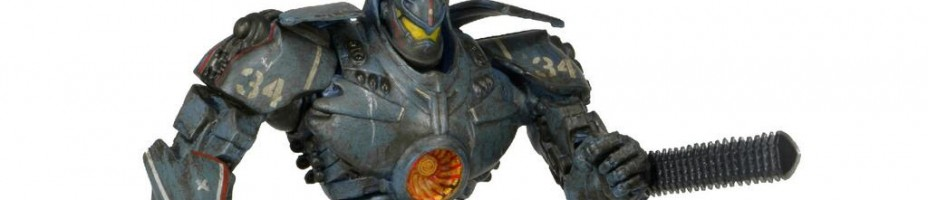 Pacific Rim Gipsy Danger Battle Damaged NECA