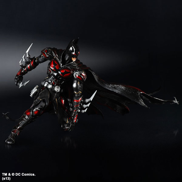 Play Arts Kai DC Variant Red Suit Batman