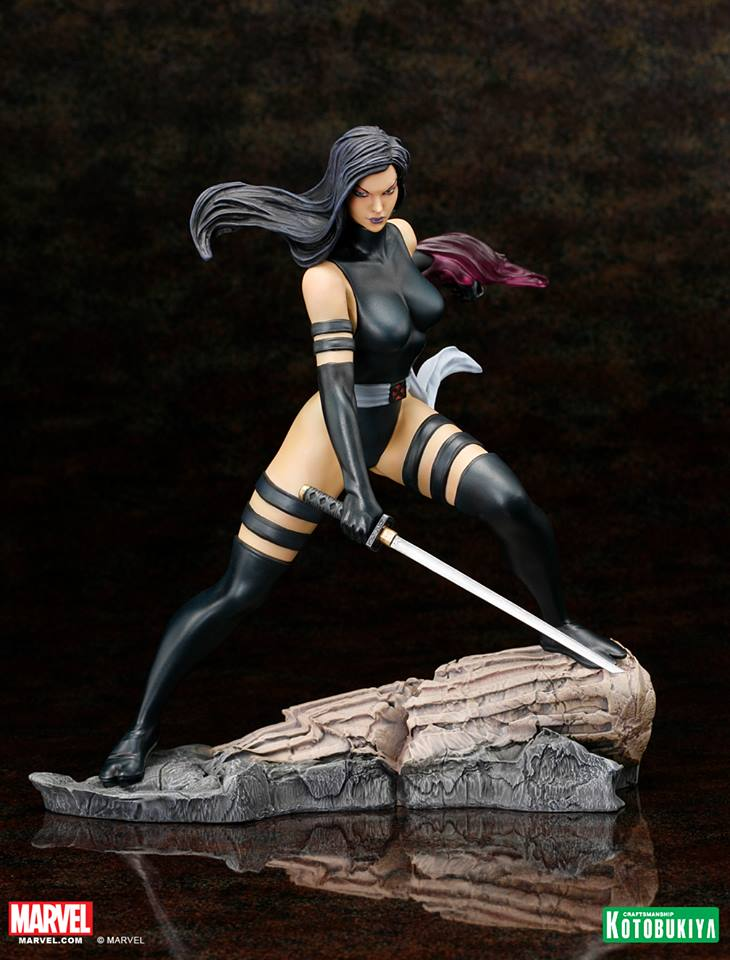 Marvel Comics Psylocke X-Force Fine Art Statue by ... Marvel Now Psylocke