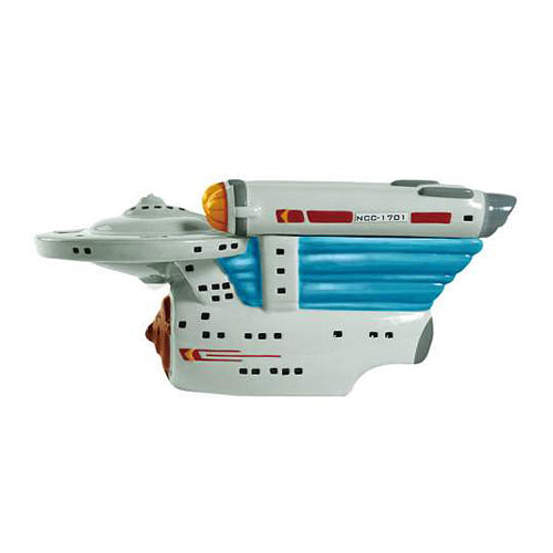 Star Trek Enterprise cookie Jar