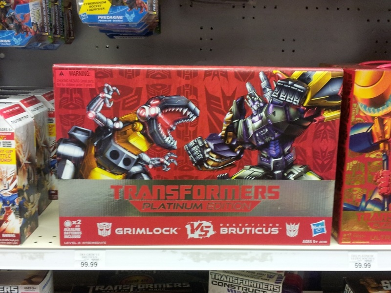 platinum edition grimlock vs bruticus