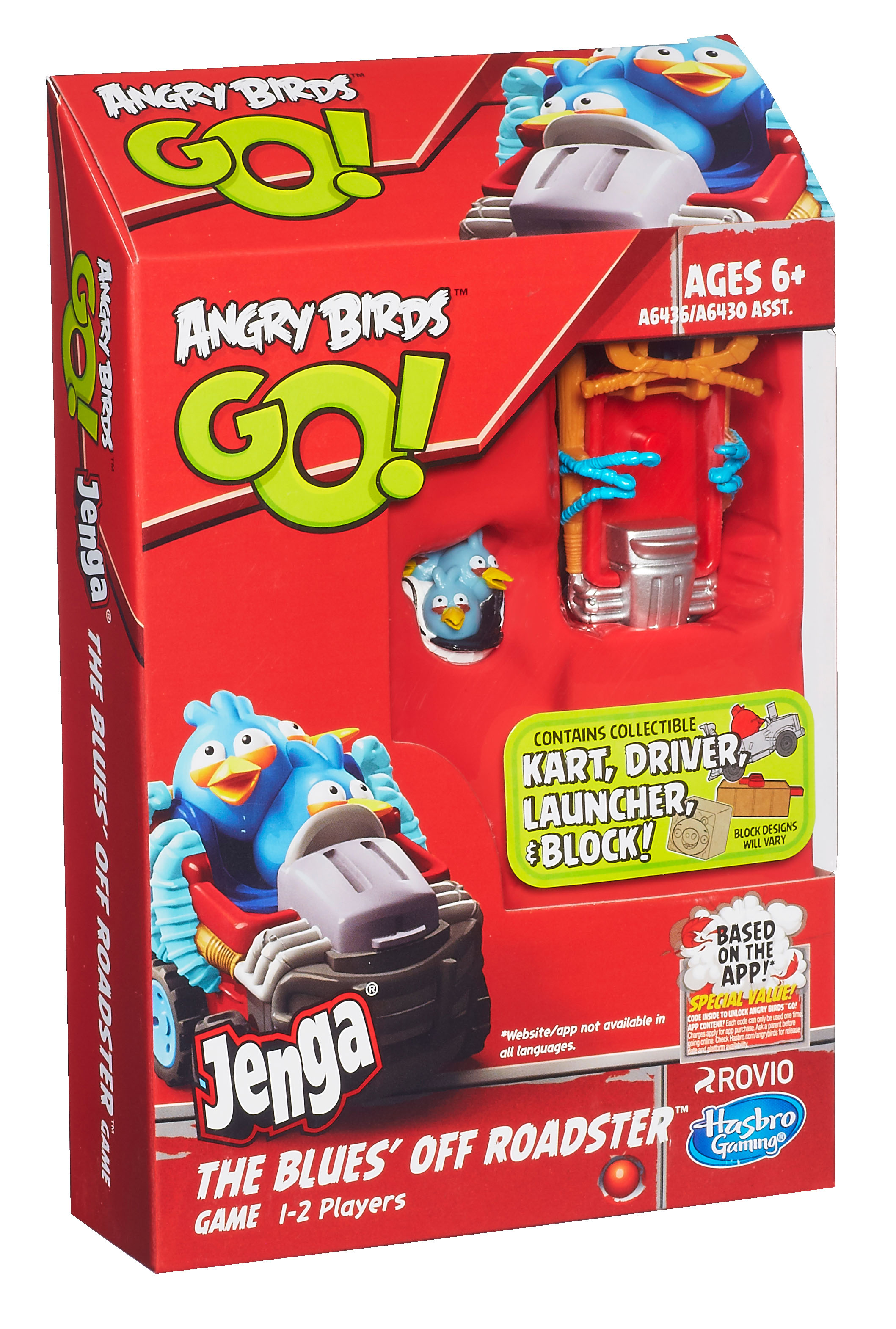 Press Release - Hasbro Angry Birds GO Telepods and Jenga ...