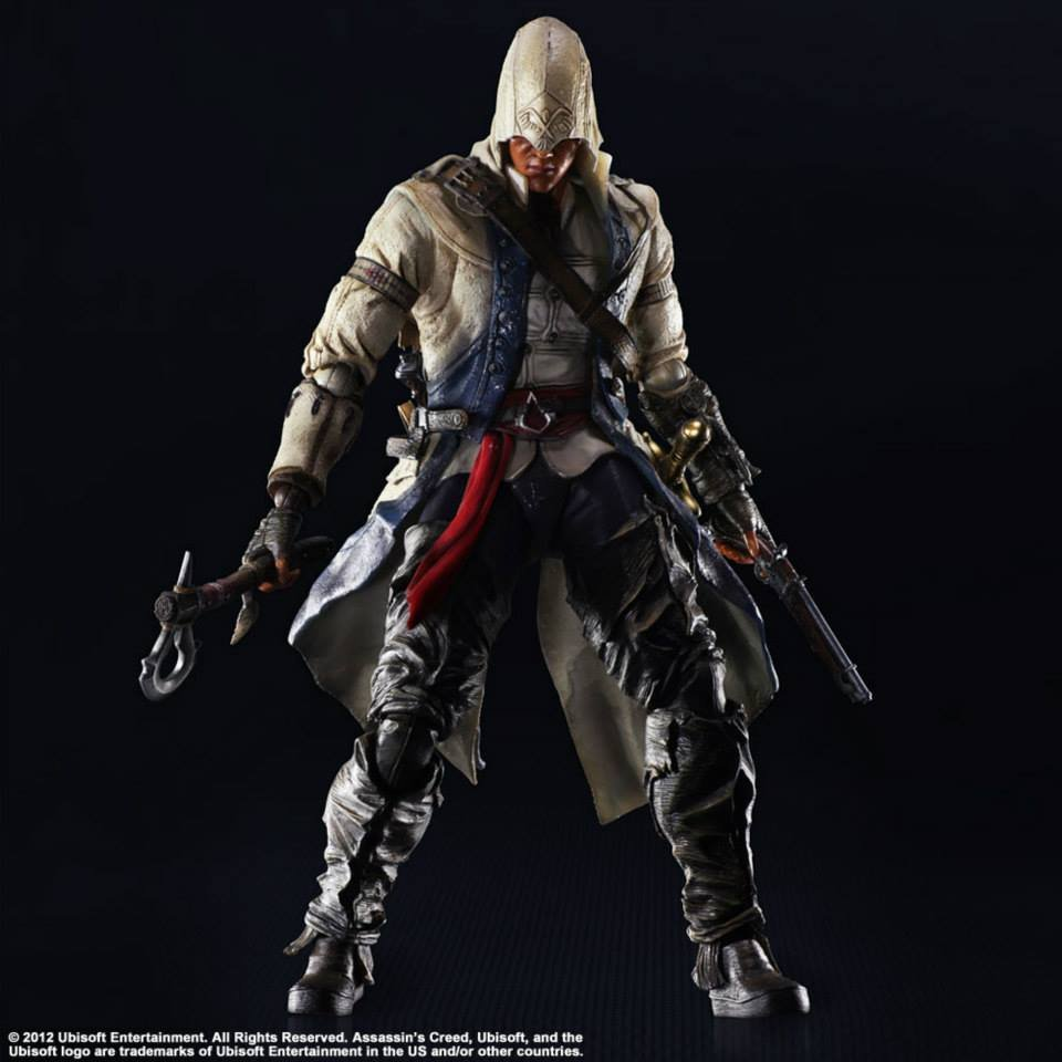 Play Arts Kai Assassin's Creed Connor and Edward Figures ...
